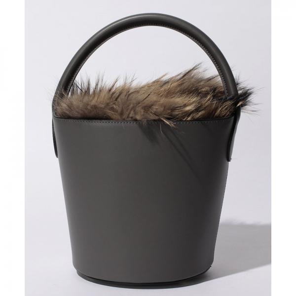 【A‐Jolie】バケツ型レザーハンドバッグ