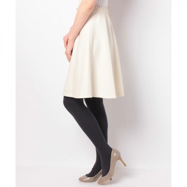 ベルト付きフレアースカート