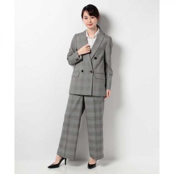 【セットアップ対応商品】グレンチェックパンツ