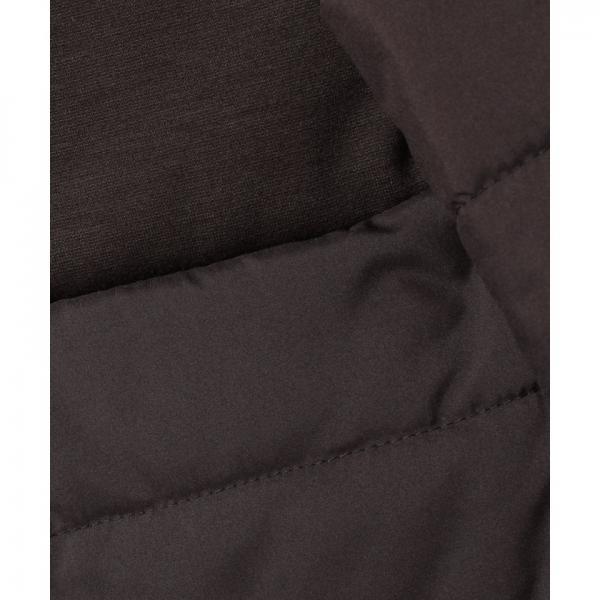 異素材切り替え中綿ジャケット