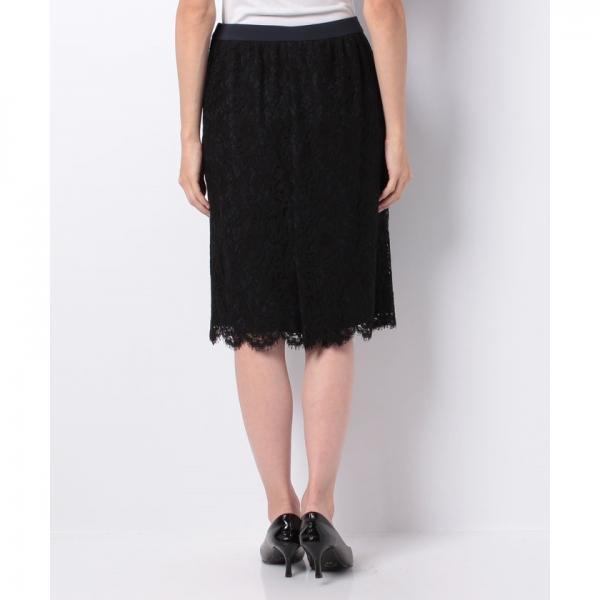 【セットアップ対応商品】レースデザインタイトスカート