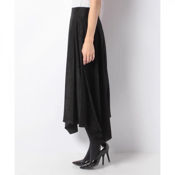 【セットアップ対応商品】マロンサテンスカート