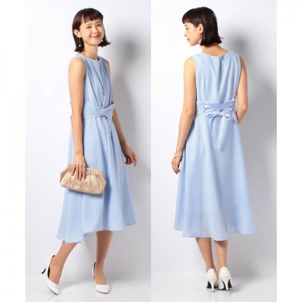 フィッシュテールロングドレス