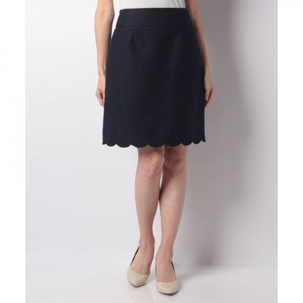 ヘムスカラップ台形スカート