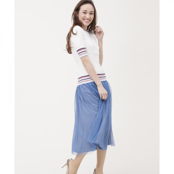 【DOLLY SEAN】フレアチュールスカート