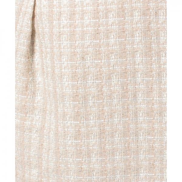 【セットアップ対応商品】ファンシーツィードスカート