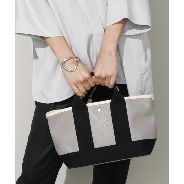 【好評につき再生産!】【日本製】スコッチグレインフェイクレザー・ミニトートバッグ
