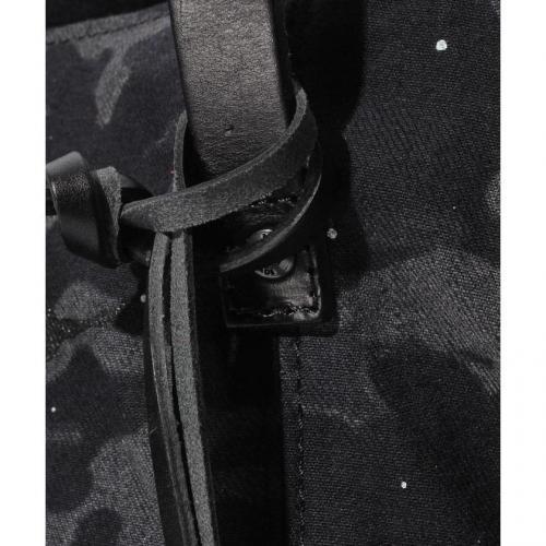 ブラックカモデニム トートバッグ