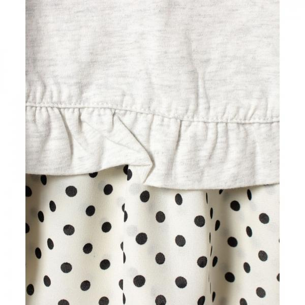 女天竺リバーシブルジャンバースカート(80~120cm)