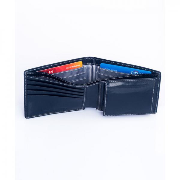 ENZODESIGN イタリアンレザー二つ折り財布