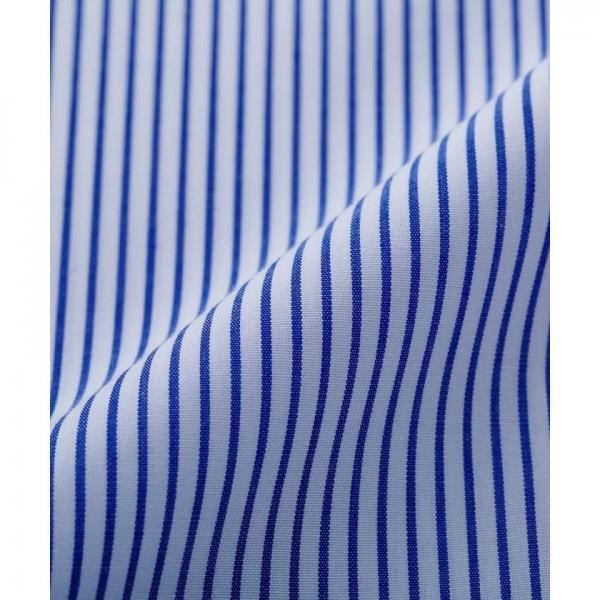 【日本製】ブルーピンストライプシャツ【お取り寄せ商品】