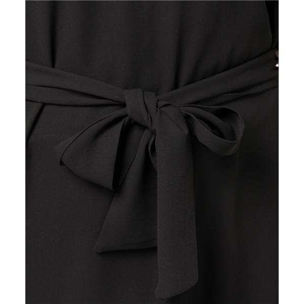 【結婚式 ワンピース】バックケープドレス