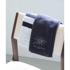 DOORS LIVING PRODUCTS Face Towel navy【お取り寄せ商品】