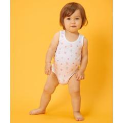 キャビットちゃん♪メッシュ素材のノースリーブボディシャツ(70cm~90cm)