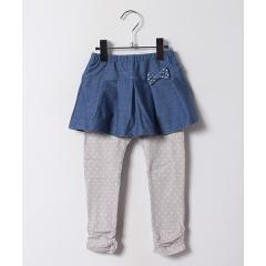 スカート付ドットパンツ(80cm~90cm)