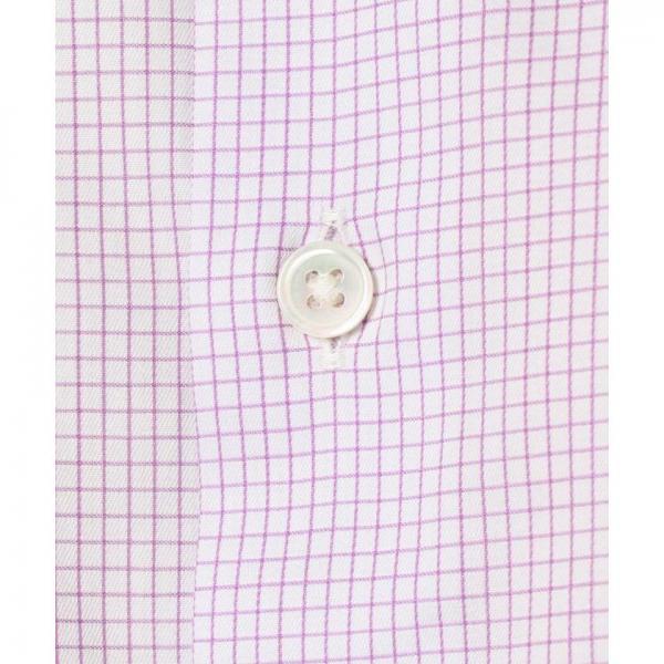 【日本製】クレリックグラフチェックシャツ