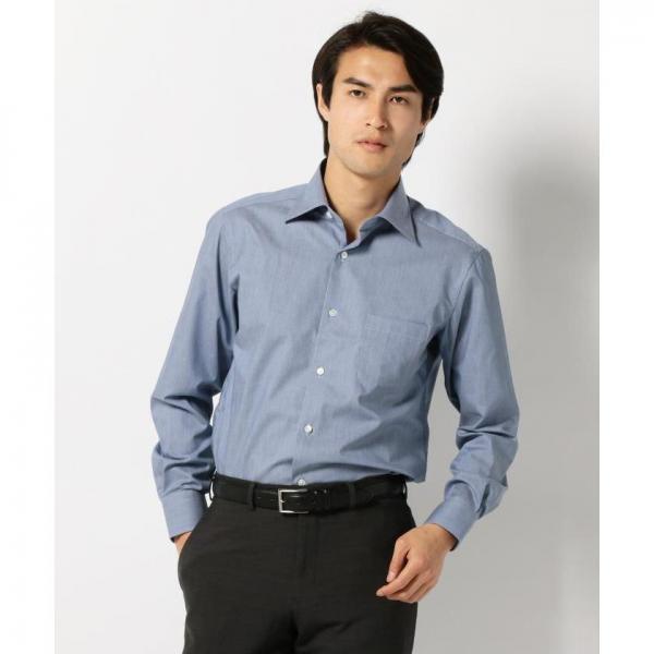 【日本製】メランジダンガリーシャツ【お取り寄せ商品】