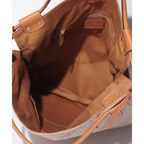 【日本製】インド刺繍・A4トートバッグ