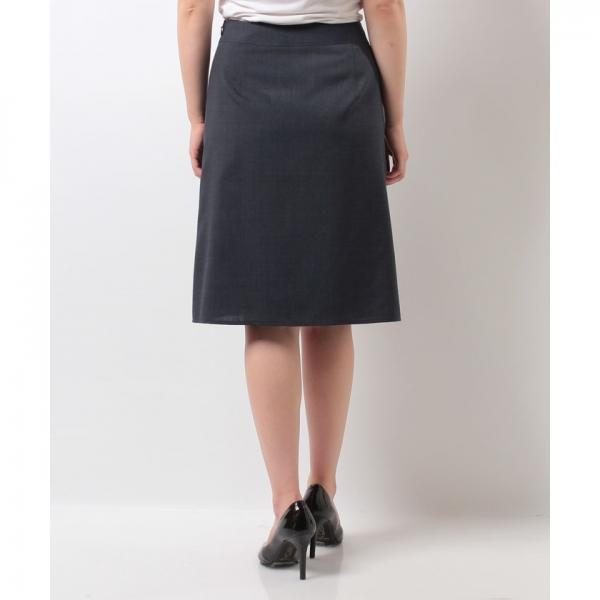 【セットアップ対応商品】【吸水速乾】クールマックス Aラインスカート(手洗い可能)