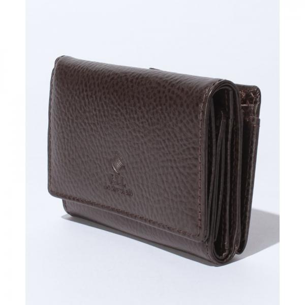 牛革三つ折り財布