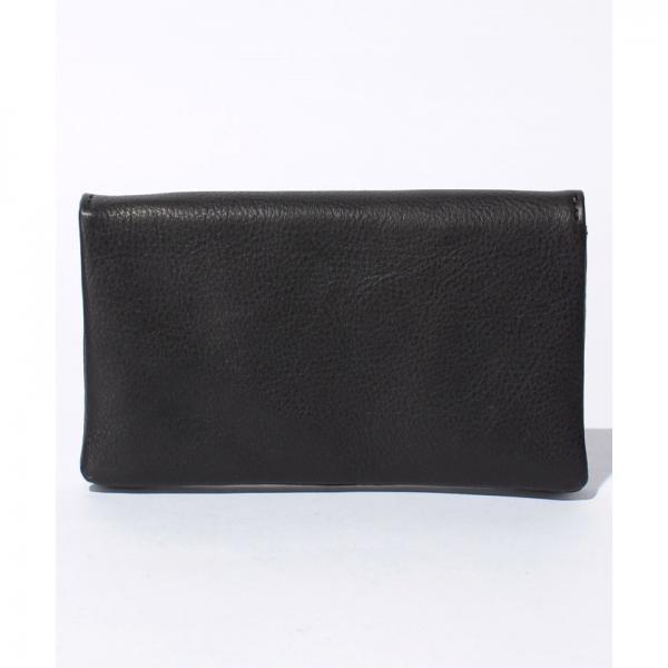 ペルケ perche / 牛革袋縫いかぶせ長財布