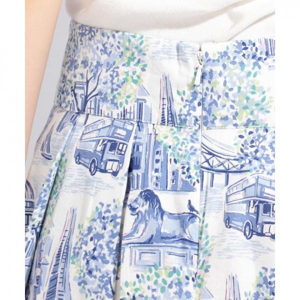 【6】コットン サテンスカート