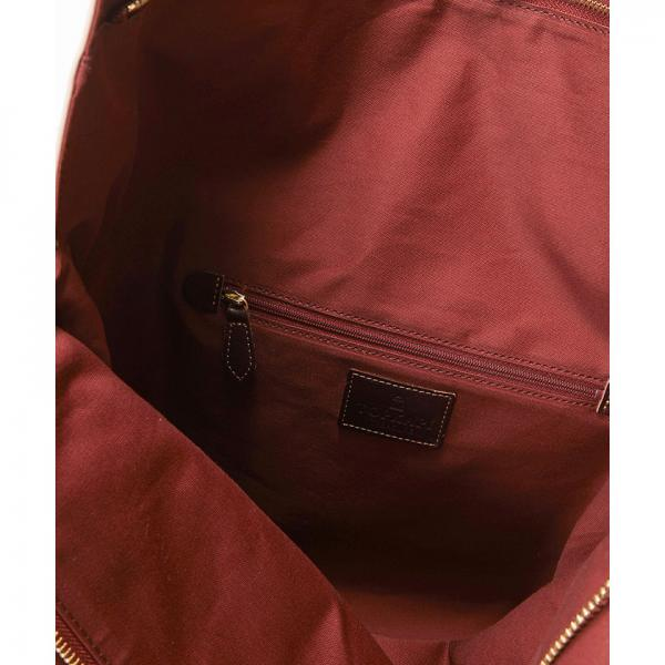 【日本製】マイルドサテンスカーフパネル柄・A4トートバッグ