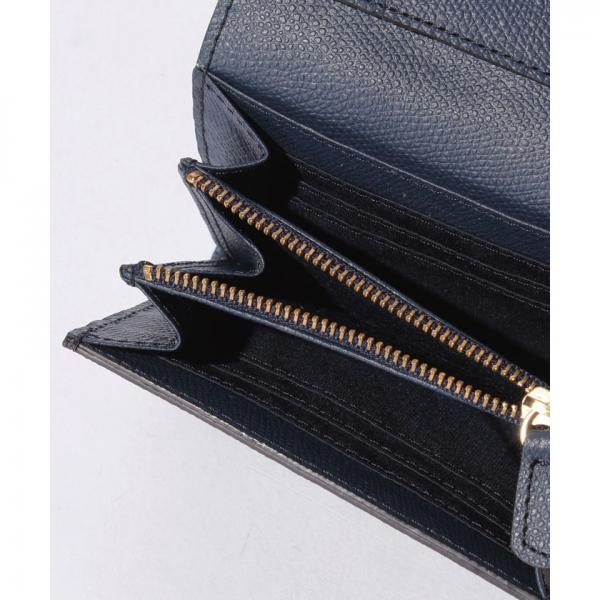 角シボ型押し・折り財布