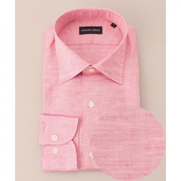 【ONWARD J BRIDGE】【日本製】コットンリネンシャツ【お取り寄せ商品】