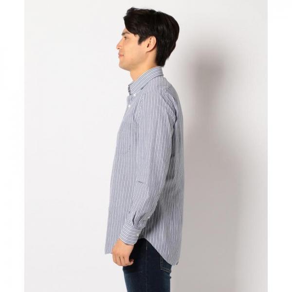 【ONWARD J BRIDGE】【日本製】サッカーストライプシャツ