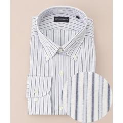 【ONWARD J BRIDGE】【日本製】サッカーストライプシャツ【お取り寄せ商品】
