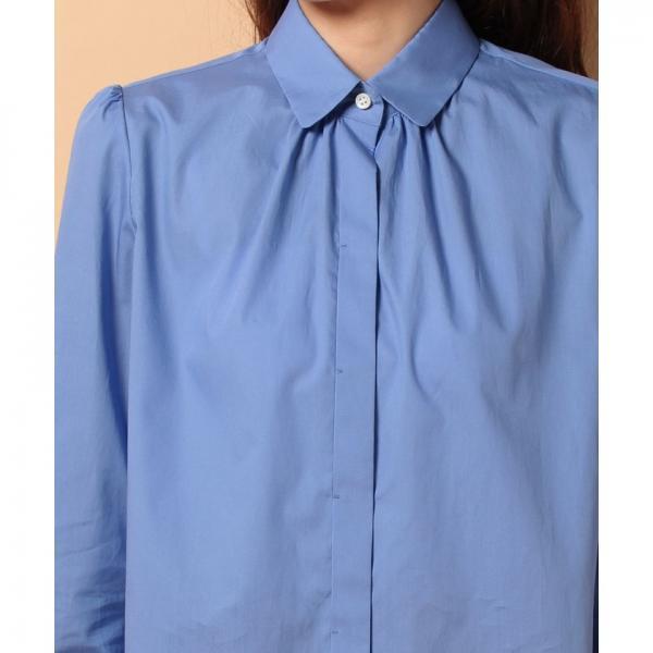 ハイカウントコットンシャツ