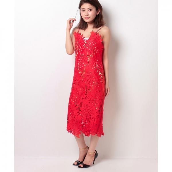 リーフレースワンピース[DRESS/ドレス]