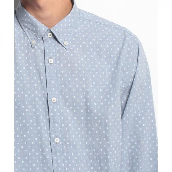 NFポプリンプリントシャツ