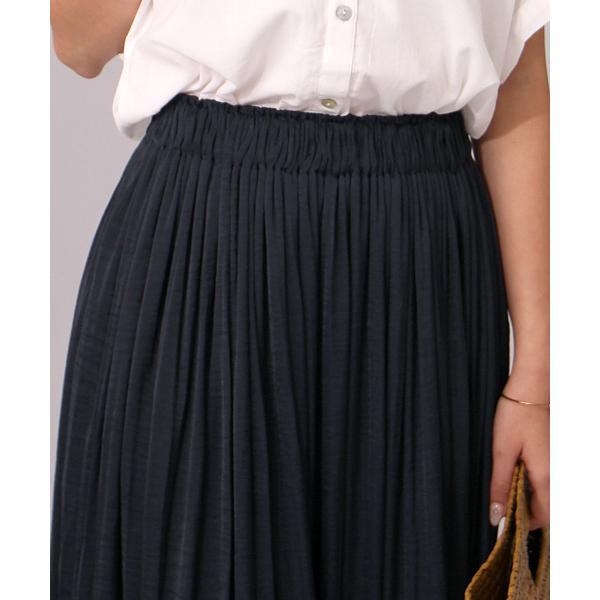 【セットアップ対応商品】カッセンサテンギャザースカート