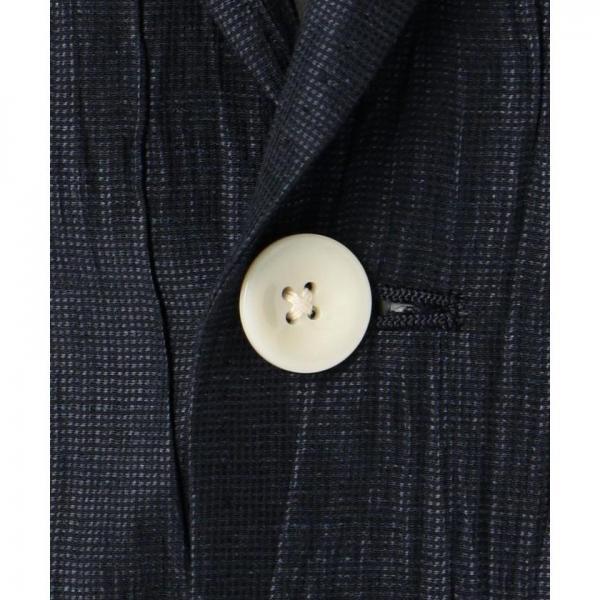 【ONWARD J BRIDGE】【日本製】リネンワッシャージャケット【お取り寄せ商品】