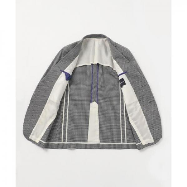 【ONWARD J BRIDGE】【日本製】サッカーギンガムジャケット【お取り寄せ商品】