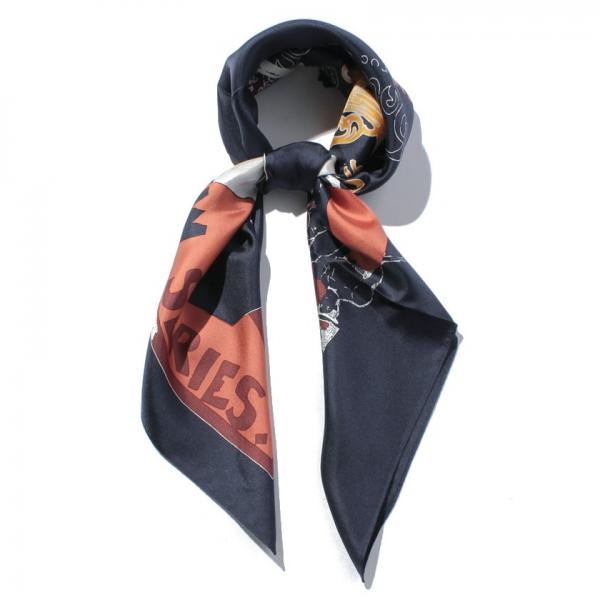 【InRed10月号掲載】ロートレック柄スカーフ