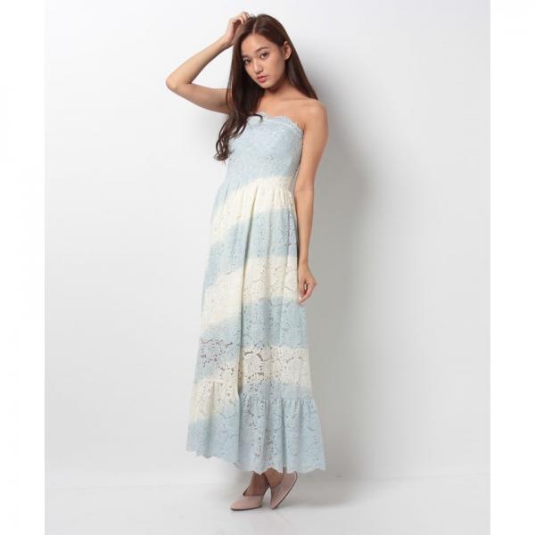 グラデレースワンピース[DRESS/ドレス]