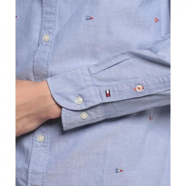 NFフラッグエンブロシャツ