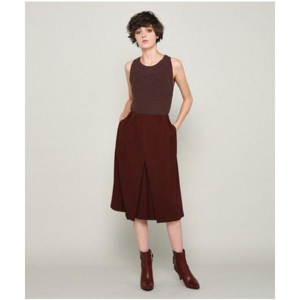 Layered Skirt Pants