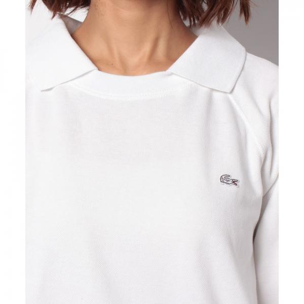 鹿の子パイルプルオーバースウェットシャツ