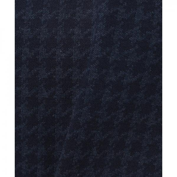 千鳥格子スウェットシャツ