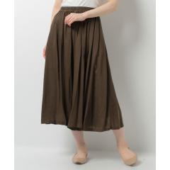Lugnoncure レーヨン麻スカーチョ