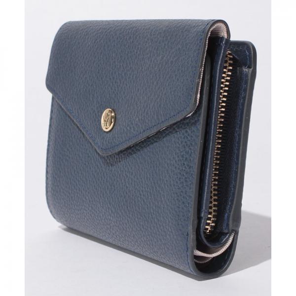 レター型3つ折り財布