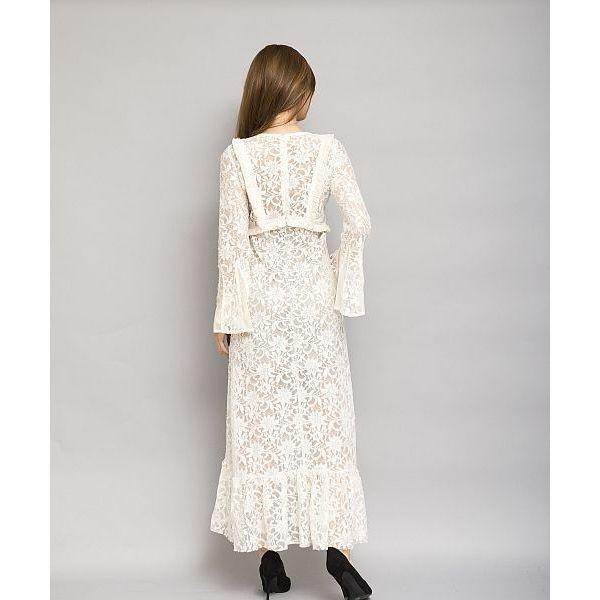 レースフリンジワンピース[DRESS/ドレス]