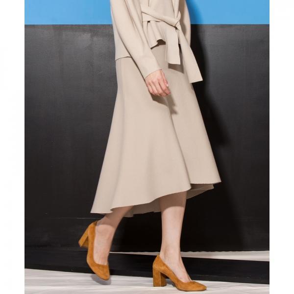 【セットアップ対応商品】【BRAHMIN/ブラーミン】ミラノリブ ロングテールフレアスカート
