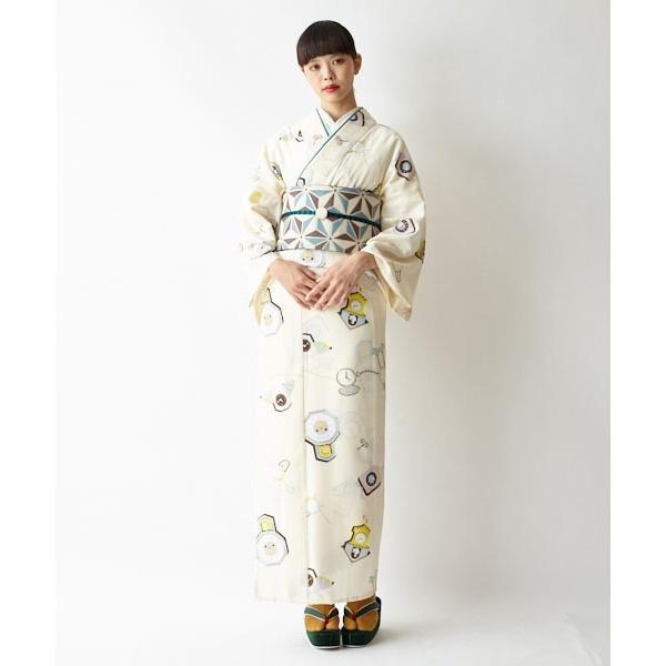 半巾帯「麻の葉」