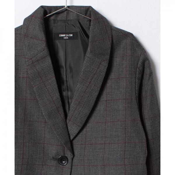 グレンチェックジャケット(140~160cm)