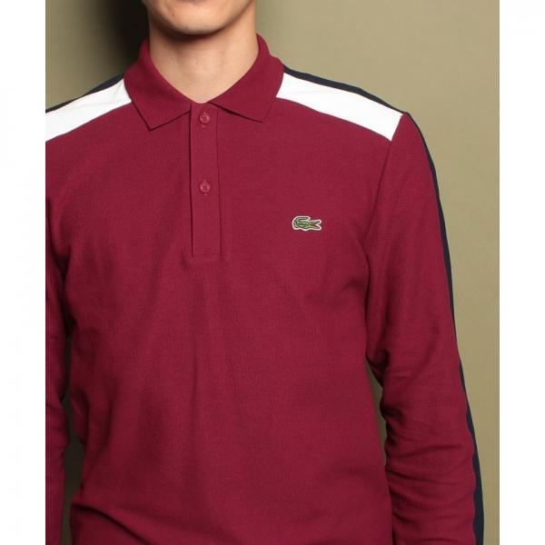 『MadeinFrance』カラーブロックポロシャツ(長袖)